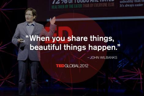 share things TED