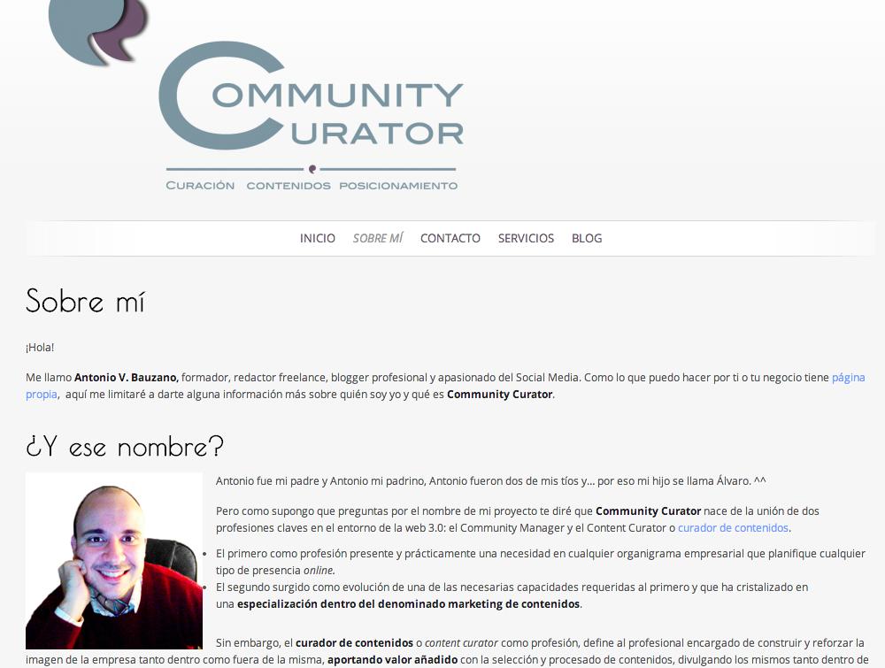 Sabes por qué es tan importante la página \'Sobre mí\' en tu blog o ...